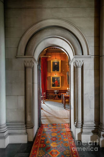 Archway Photograph - Vintage Hall by Adrian Evans