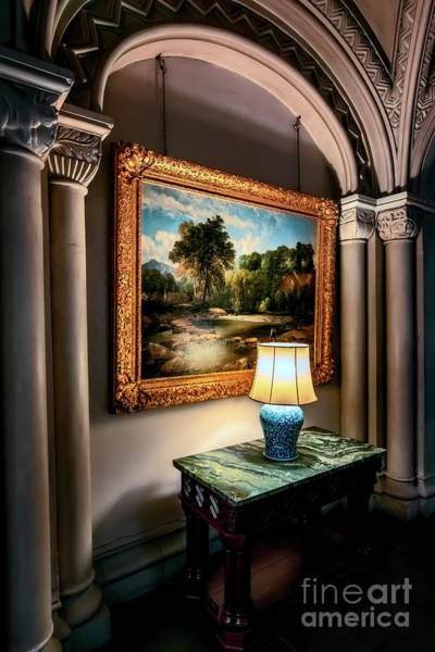 Photograph - Vintage Hall Painting by Adrian Evans