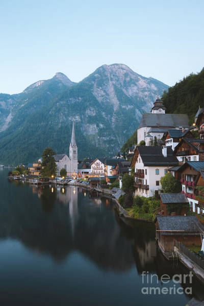 Wall Art - Photograph - Vintage Hallstatt by JR Photography