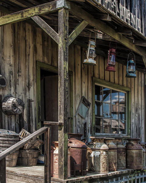 Photograph - Vintage Hardware Store by Randall Nyhof