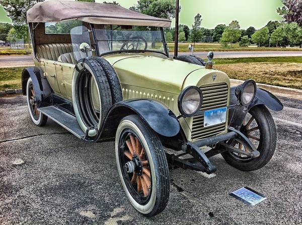 Photograph - Vintage Hudson 1921 Phaeton Motor Car by Joy of Life Art Gallery