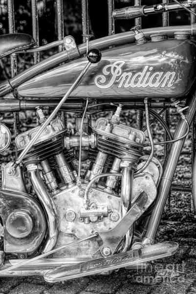 Wall Art - Photograph - Vintage Indian 101 Scout by Tim Gainey