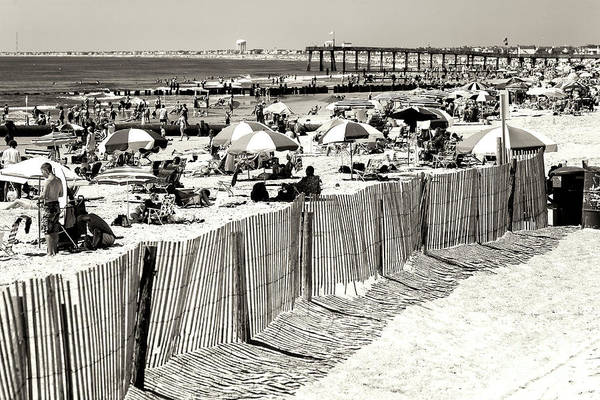 Photograph - Vintage Jersey Shore At Ocean City by John Rizzuto
