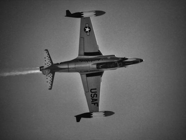 Photograph - Vintage Jet Fighter by Charles McKelroy