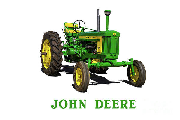 Wall Art - Photograph - Vintage John Deere Tractor by Nick Gray
