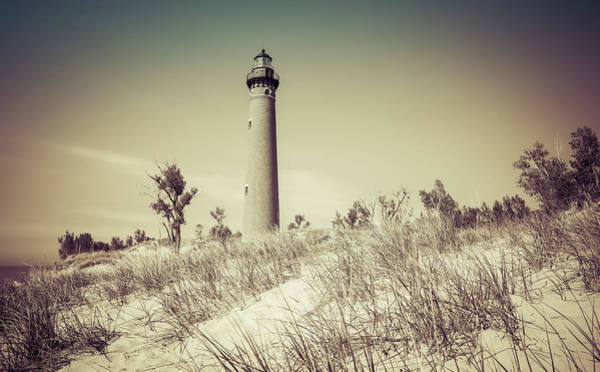 Wall Art - Photograph - Vintage Little Point Lighthouse by Dan Sproul