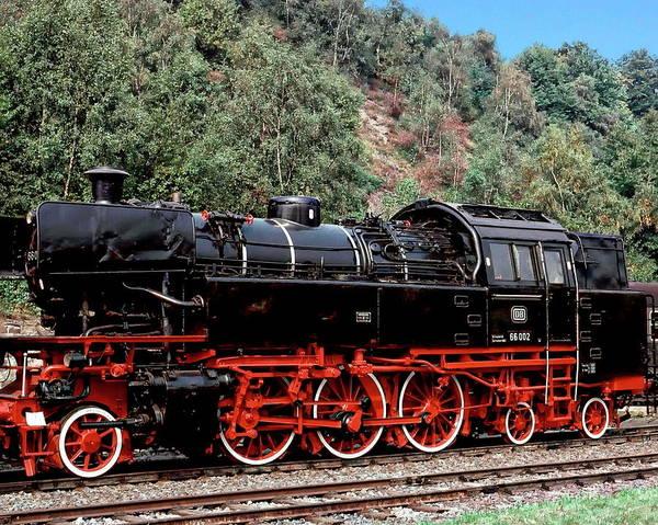 Photograph - Vintage Locomotive by Anthony Dezenzio