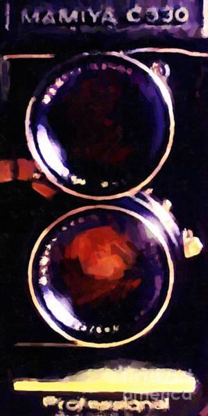 Photograph - Vintage Mamiya Camera by Wingsdomain Art and Photography