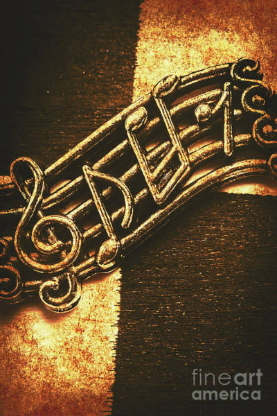 Grunge Music Wall Art - Photograph - Vintage Melody by Jorgo Photography - Wall Art Gallery