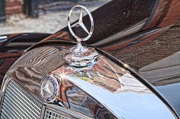 Photograph - Vintage Mercedes Stars by Val Black Russian Tourchin