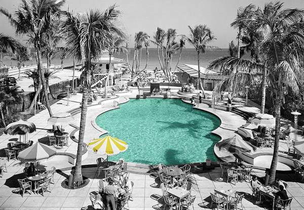 Swimming Pool Wall Art - Photograph - Vintage Miami by Andrew Fare