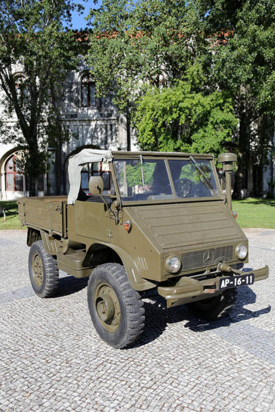 Photograph - Vintage Military Truck 1 by Andrew Fare