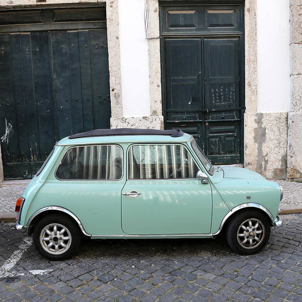 Photograph - Vintage Mini Minor by Andrew Fare
