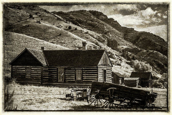 Wall Art - Photograph - Vintage Montana by Paul Freidlund