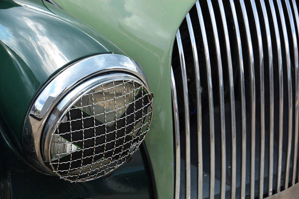 Whiskey Hill Wall Art - Photograph - Vintage Morgan  by Mike Martin