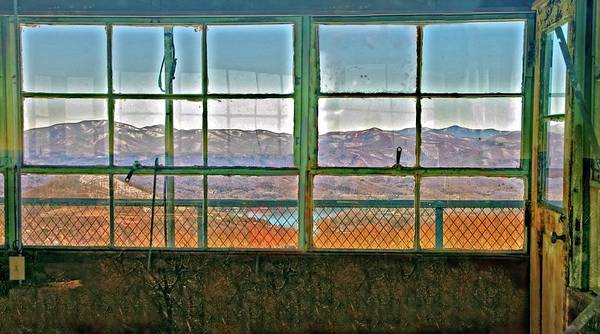 Photograph - Vintage Mountain View by Susan Leggett