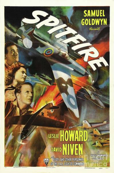 Howard Painting - Vintage Movie Posters, Spitfire by Esoterica Art Agency