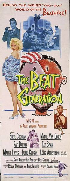 Wall Art - Painting - Vintage Movie Posters, The Beat Generation by Esoterica Art Agency