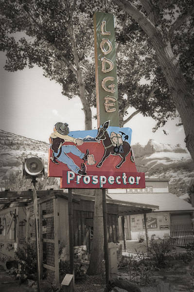 Wall Art - Photograph - Vintage Neon Sign by Steve Ohlsen