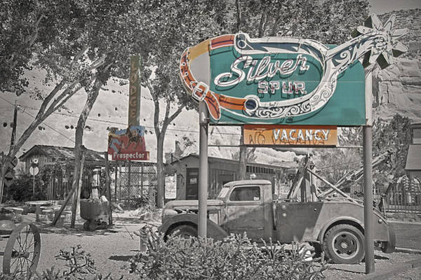 Wall Art - Photograph - Vintage Neon Signs by Steve Ohlsen