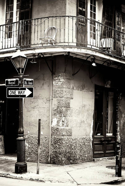 Wall Art - Photograph - Vintage New Orleans French Quarter by John Rizzuto