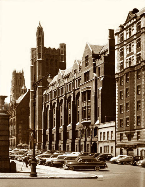 Photograph - Vintage New York City Columbia University by Marilyn Hunt