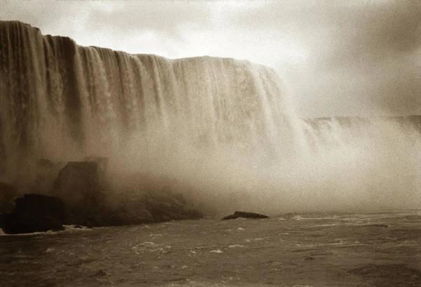 Photograph - Vintage Niagara Falls by Marilyn Hunt