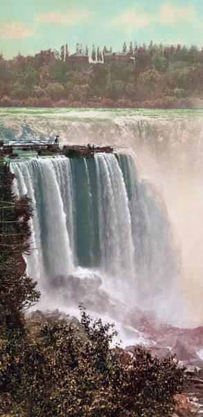 Niagara Falls Photograph - Vintage Niagara Falls - Two by War Is Hell Store
