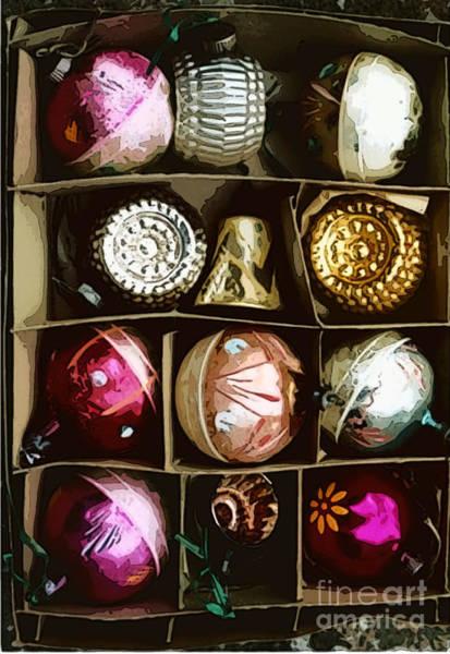 Photograph - Vintage Ornaments by Susan Vineyard