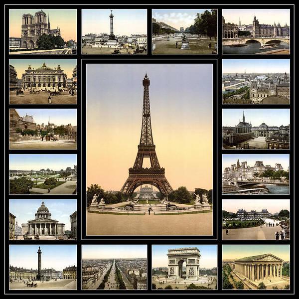 Photograph - Vintage Paris 1900 by Andrew Fare