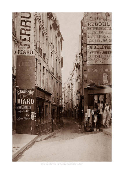 Photograph - Vintage Paris 21b by Andrew Fare