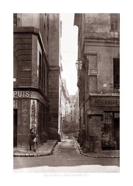 Photograph - Vintage Paris 22b by Andrew Fare