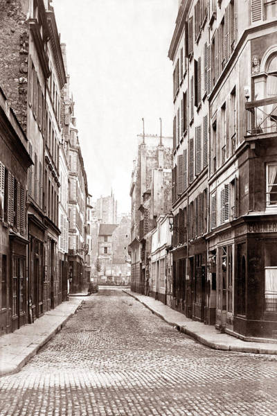 Photograph - Vintage Paris 23 by Andrew Fare