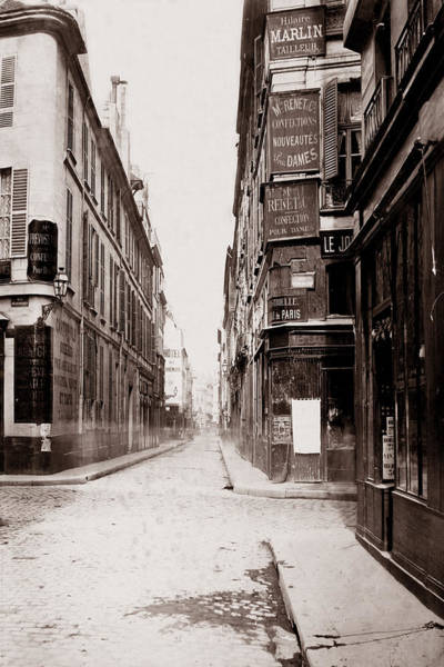 Photograph - Vintage Paris 24 by Andrew Fare