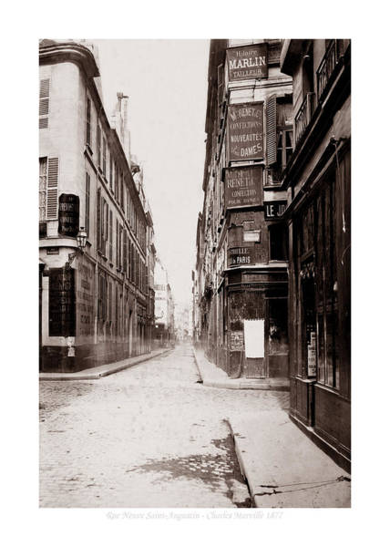 Photograph - Vintage Paris 24b by Andrew Fare