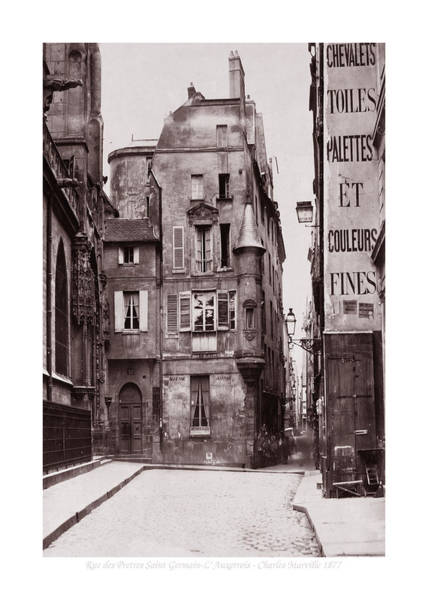 Photograph - Vintage Paris 28b by Andrew Fare