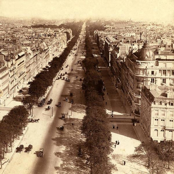 Photograph - Vintage Paris 7 by Andrew Fare