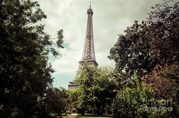 Photograph - Vintage Paris Landscape by Paul Warburton