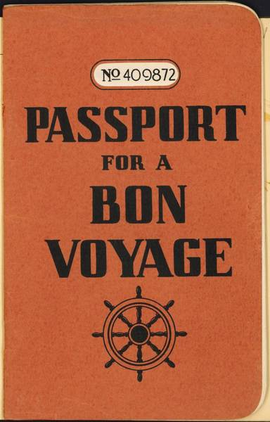 Travel Photograph - Vintage Passport by Gillham Studios