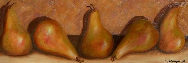 Painting - Vintage Pears by Susan Dehlinger