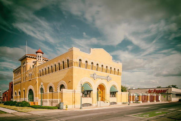 Wall Art - Photograph - Vintage Photograph Of Dr. Pepper Museum In Waco Texas by Silvio Ligutti
