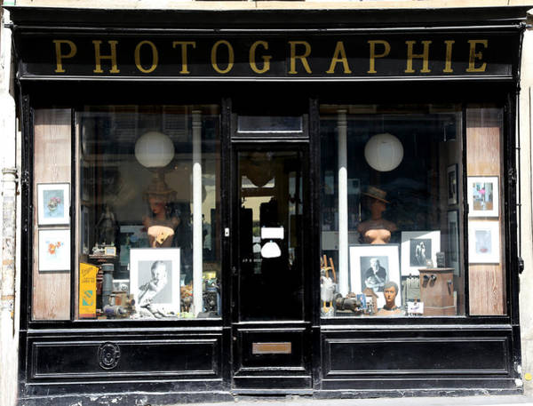 Photograph - Vintage Photography Shop 1 by Andrew Fare