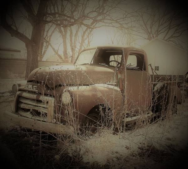Wall Art - Photograph - Vintage Pickup by Toni Grote