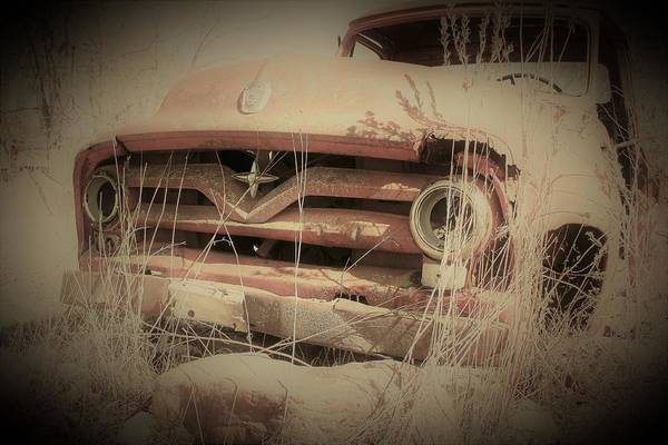 Wall Art - Photograph - Vintage Pickup Truck by Toni Grote