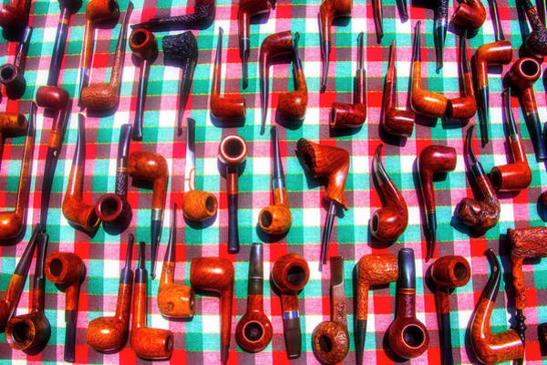 Wall Art - Photograph - Vintage Pipes by Garry Gay