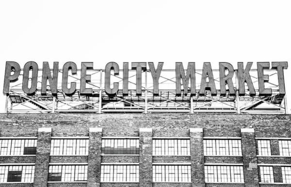 Hotlanta Photograph - Vintage Ponce City Market  by Kennard Reeves