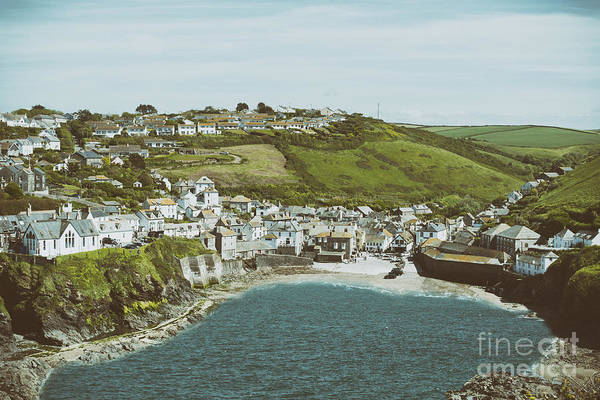 Wall Art - Photograph - Vintage Port Isaac by Amanda Elwell