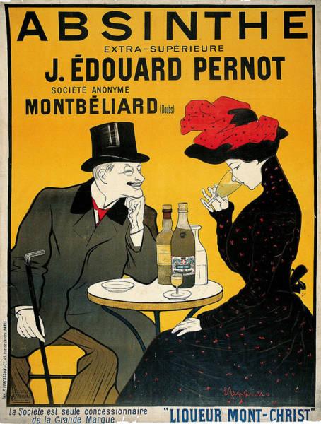 Screenprinting Painting - Vintage Poster - Absinthe by Vintage Images