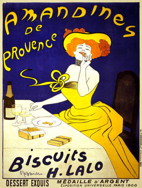 Screenprinting Painting - Vintage Poster - Amandines De Provence by Vintage Images