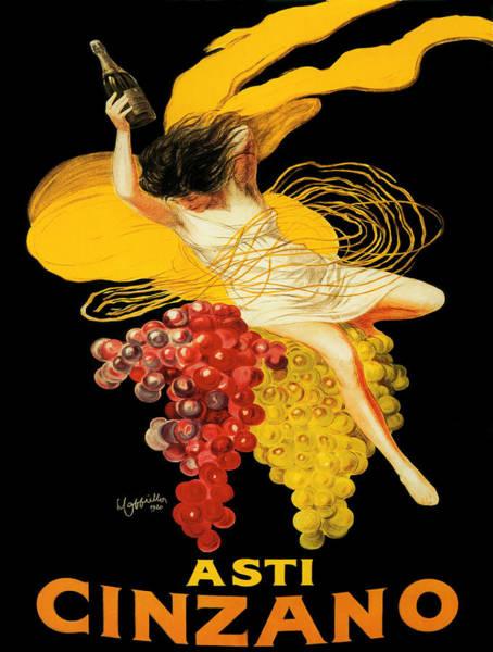 Screenprinting Painting - Vintage Poster - Asti Cinzano by Vintage Images